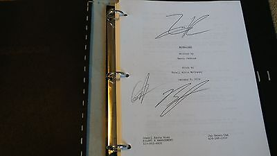 Moonlight Hand Signed Movie Screenplay Script  Fyc For Your Consideration
