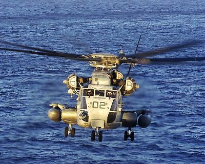 CH-53E Super Stallion Helicopter HMH-464 11x14 Silver Halide Photo Print