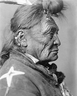 North American Indian Edward S. Curtis 1908 11x14 Silver Halide Photo Print