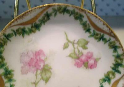 Haviland & Co Limoges Haviland France Butter Pat Apple Cherry Blossom
