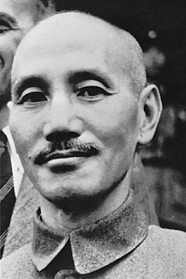 WWII Chinese General Chiang Kai-Shek 8x12 Silver Halide Photo Print