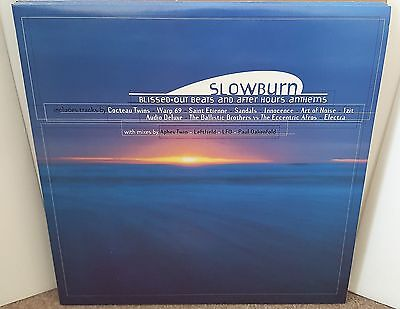 V/a Slowburn Dbl Lp Og Uk 1996 Aphex Twin Leftfield Lfo Global Communications