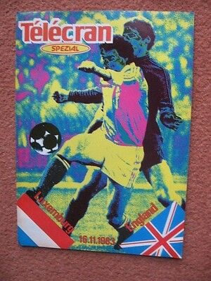 LUXEMBOURG v ENGLAND 1983