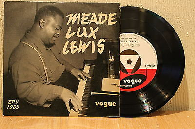 """Meade Lux Lewis Self Titled 1950's Vogue 7"""" 45 Ep Ex+"""