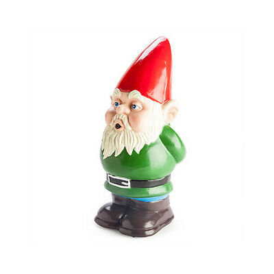 Motion Activated Whistling Sound Audio Loud Garden Decorative Gnome Funny Small