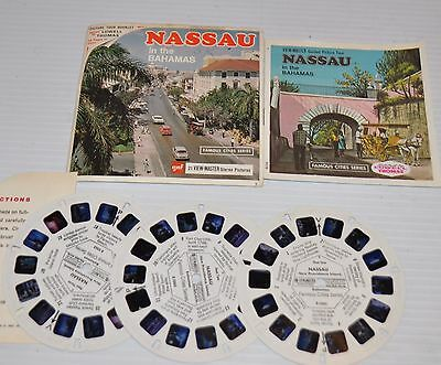 - NASSAU in the BAHAMAS VIEW-MASTER Reels B-026 with Packet & Booklet -