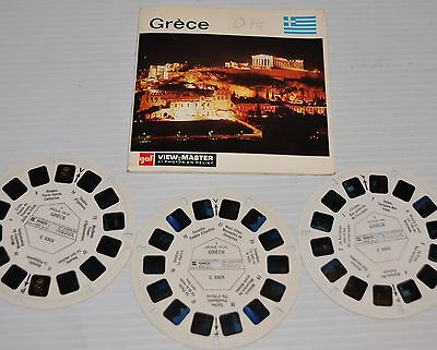 - GREECE (Grece) Gaf VIEW-MASTER Reels with Packet-