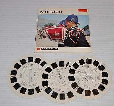- MONACO Gaf VIEW-MASTER C-115 Reels with Packet-