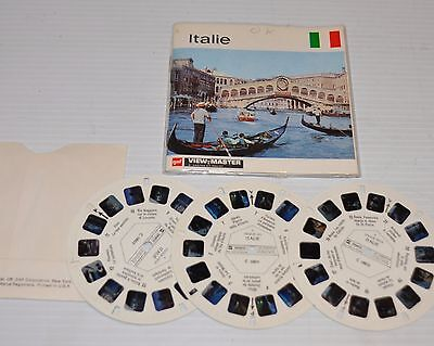 - ITALY (Italie) Gaf VIEW-MASTER C-080 Reels with Packet-