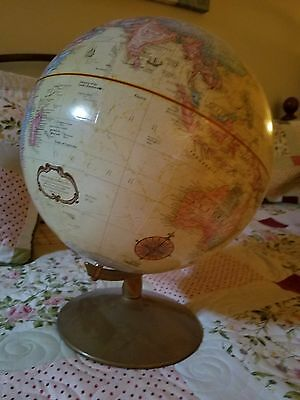 12 Inch Diameter World Globe Classic Series Excellent condition on stand