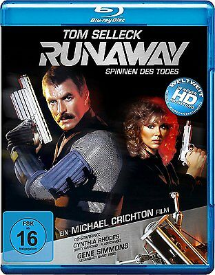 Runaway (1984) Tom Selleck IMPORT Blu-Ray NEW Free Ship USA Compatible