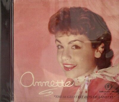 ANNETTE'S SCRAPBOOK - The 31 Greatest Hits of Annette