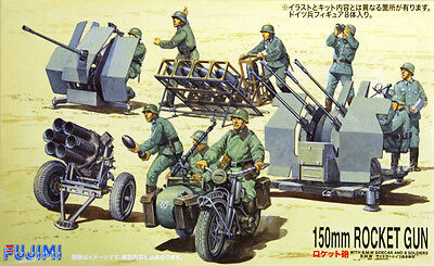 "Fujimi SWA13 Special World Armor ""150mm Rocket Gun"" 1/76 scale kit"
