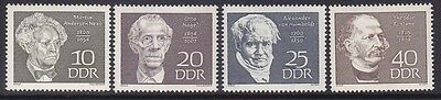 Germany DDR 1077-80 MNH 1969 Famous Men Portraits Full Set Very Fine