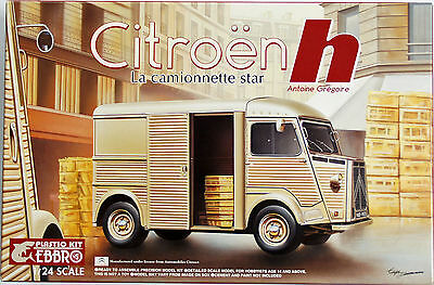 Ebbro 25007 Citroen H Van Master Series F-1 1/24 Scale Plastic Model Kit