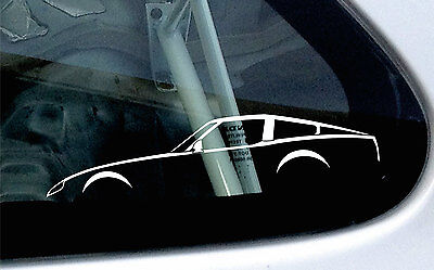 2x car silhouette stickers - For Datsun 280zx / Nissan fairlady Z S130