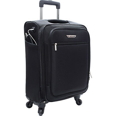 "Travelers Club Luggage Sabre 20"" Embedded USB Port Hardside Carry-On NEW"