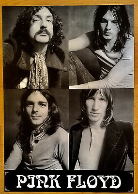 Wall Art Poster Pink Floyd Syd Barret Roger Waters David Gilmour