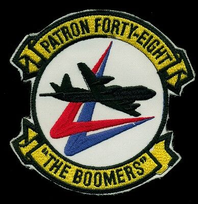 "US Navy VP-48 ""The Boomers"" Patch J-1"