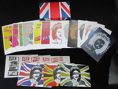 Jamie Reed Antipathy in The UK Postcard Set in Picture Sleeve 1997 Sex Pistols
