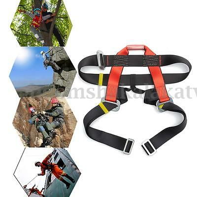 Rappelling Rock Climbing Harness Seat Safety Belt Rescue Equipment Fall Arrest