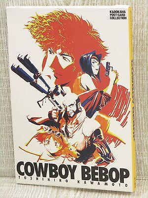 COWBOY BEBOP Postcard Collection TOSHIHIRO KAWAMOTO Art Illustration Book KD70*