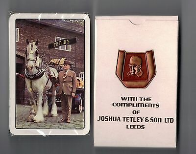 Vintage Playing Cards TETLEY & SONS.LEEDS. MINT AND SEALED