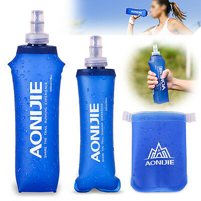 AONIJIE Pliable Doux Ballon TPU Squeeze Outdoor Sports Running Water Bottle