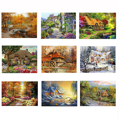 NEW 5D Embroidery Paintings Rhinestone Pasted DIY Diamond painting Cross Stitch