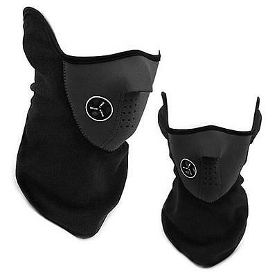 Outdoor riding windproof mask Ski Snowboard Windproof Neck Warmer black PX