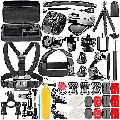 Neewer 53-In-1 Sport Accessory Kit for GoPro Hero4 Session Hero1 2 3 3