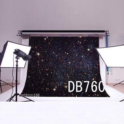Space Stars Vinyl backdrop Photography PhotoProp Studio Background 5X3FT DB760