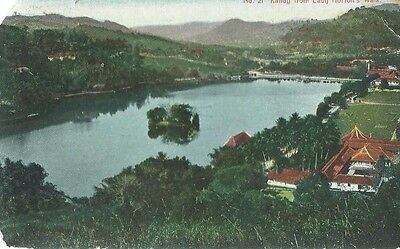 Kandy From Lady Horton's Walk,the Colombo Apothacaries Co.,no.21,postcard,1913