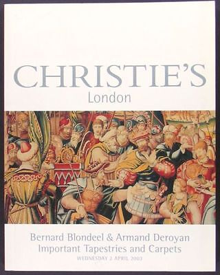 Book: Blondeel & Deroyan Christies- Oriental Rugs Carpets + European Tapestries