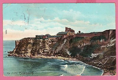 Dated 1905. The Cliffs, Tynemouth, Tyne and Wear