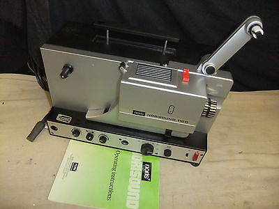 Cine film projector NORIS 110D Norisound super 8 with SOUND & info TCTCTC