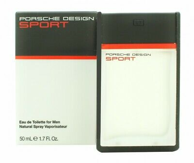 Porsche Design Sport Eau De Toilette 50Ml Spray - Men's For Him. New