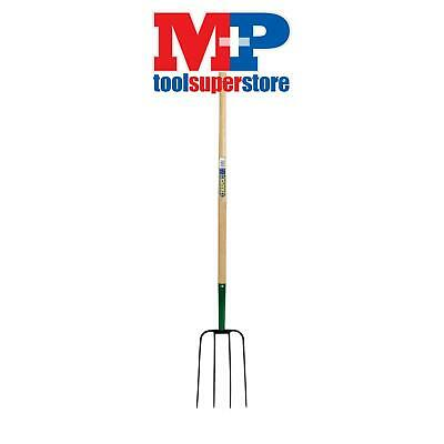 Draper 63579 4 Prong Manure Fork with Wood Shaft