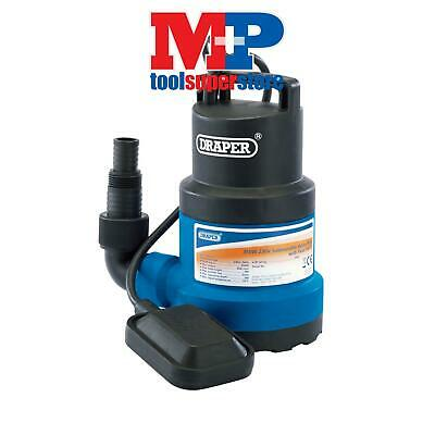 Draper 61668 Submersible Water Pump with Float Switch (108L/min)
