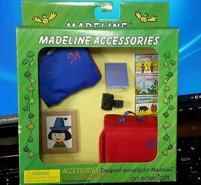 """Madeline accessories for 8"""" doll"""