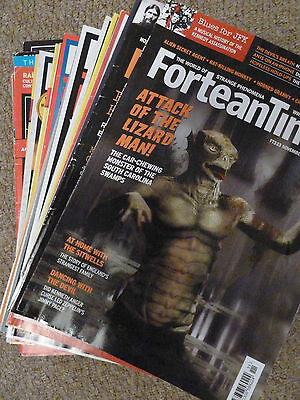 21 Issues Fortean Times Magazine Bulk Buy UFO Conspiracy Paranormal.