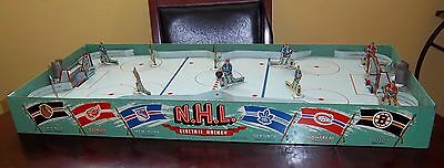 Eagle NHL Electric Hockey game 1957 table top hockey game