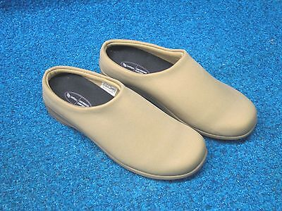 New Aetrex  Women's Taupe Slip-On  Size 8.5  Shoes  6179