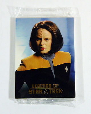 2009 Rittenhouse Legends of Star Trek 21 B'Elanna Torres Sealed Set /1701