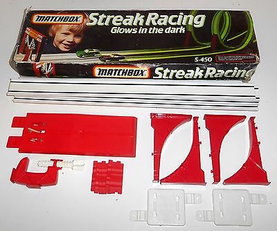 Vintage 1981 Matchbox Lesney Superfast ~ S-450 STREAK RACING ~ Glo in the Dark