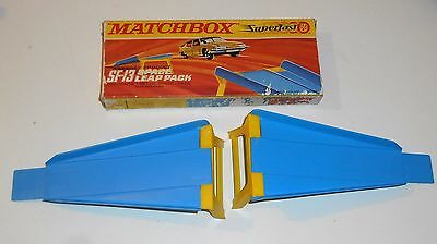 Vintage 1970's Matchbox Lesney Superfast ~ SF-13 SPACE LEAP PACK ~ Boxed