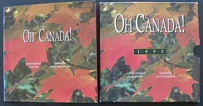 C-USA 1995 Oh Canada Coin Set Uncirculated