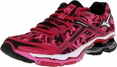 MIZUNO WAVE CREATION 15 womens running shoes Size 7.5 NEW PINK WHITE BLACK