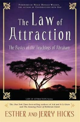 NEW The Law of Attraction  By Esther Hicks Paperback Free Shipping