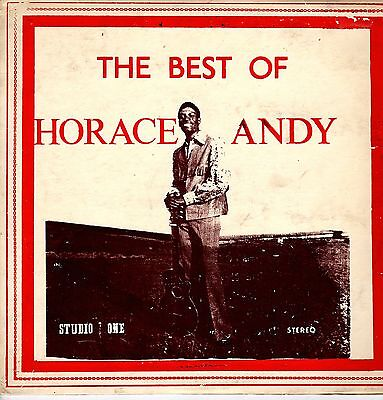 """ THE BEST OF HORACE ANDY. "" horace andy. STUDIO ONE U.S orig L.P."